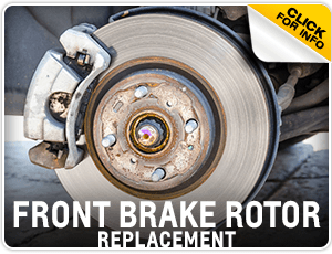 Click to research our Chevrolet Front Brake Rotor Replacement service at Carr Chevrolet in Beaverton, OR