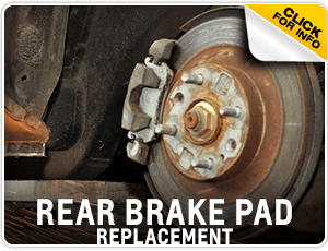 Browse our rear brake pad replacement service information at Carr Chevrolet in Beaverton, OR