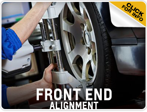 Click to view our Chevrolet front end alignment service information in Beaverton, OR