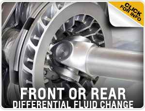 Click to view our Chevrolet front or rear differential fluid change service information in Beaverton, OR