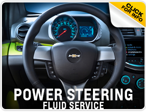 Click here to learn more about Chevrolet Power Steering Fluid Change service in Beaverton, OR
