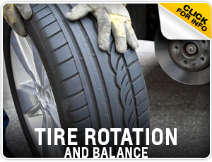 Click to research our tire rotation & balance service at Carr Chevrolet in Beaverton, OR