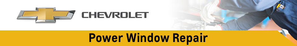 Click to Schedule Your Chevrolet Power Window Repair Service in Beaverton, OR