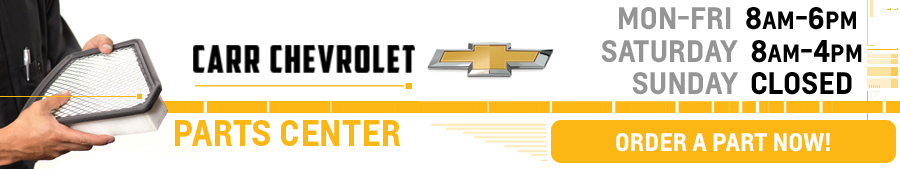 Chevrolet Parts and Accessories Center at Carr Chevrolet serving Beaverton, OR