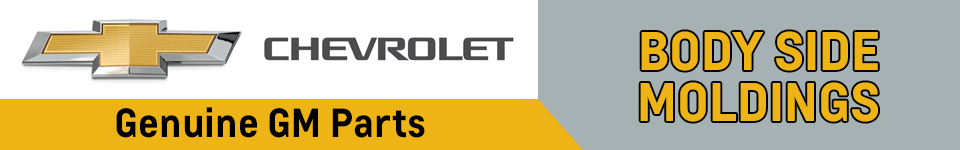 Chevrolet Body Side Moldings Parts Information in Beaverton, OR