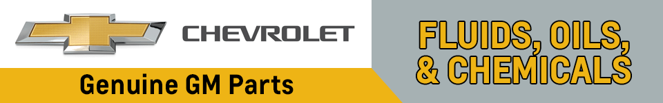 Chevrolet Fluids, Oils, and Chemicals Parts Information in Beaverton, OR