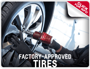 Click to view our Factory Approved Tires information in Beaverton, OR