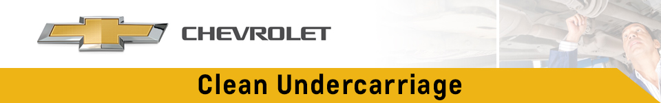 Chevrolet Clean Undercarriage Service Information in Beaverton, OR