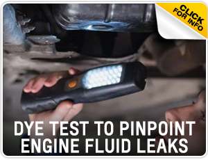 Click to research our Chevrolet dye test & fluid leak test inspection service in Beaverton, OR