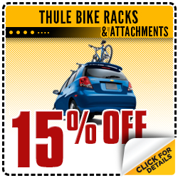 Click to save with this Carr Chevrolet parts department special offer on Thule bike racks & attachments in the Portland, OR area
