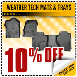 Click to save with this Carr Chevrolet parts department special offer on WeatherTech all-weather floor mats and trays in the Portland, OR area