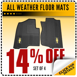 Click to view this All Weather Floor Mats Chevrolet parts special offer in Beaverton, OR