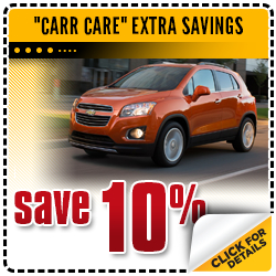 Click to View Our Carr Chevrolet Save 10% On Service Special in Beaverton, OR