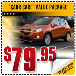 Click to View Our Carr Chevrolet Carr Care Value Package Service Special in Beaverton, OR