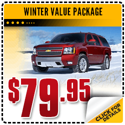 Save on Your Winter Value Package Service at Carr Chevrolet in Beaverton, OR