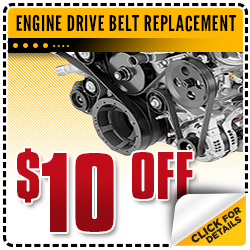Browse our engine drive belt replacement service special at Carr Chevrolet in Beaverton, OR