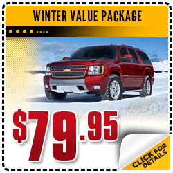 Browse our winter value package service special at Carr Chevrolet in Beaverton, OR
