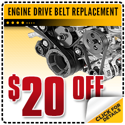 Save on Our Engine Drive Belt Replacement Service at Carr Chevrolet in Beaverton, OR