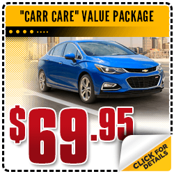 Click to View Our Carr Care Value Package Service Special in Beaverton, OR