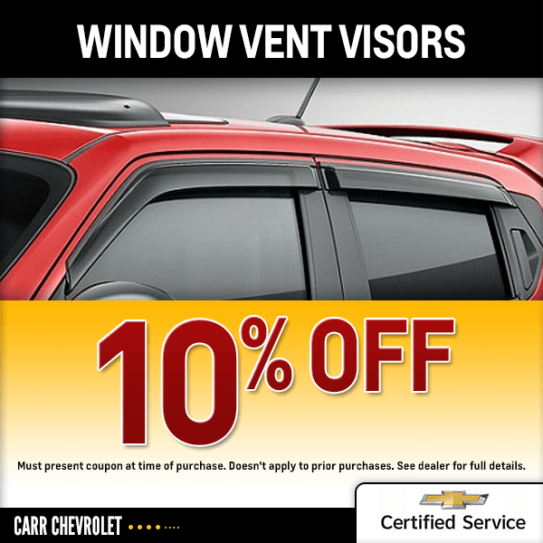 Click to print and save with this Window Vent Visor Chevrolet parts special offer in Beaverton, OR