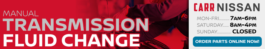 Click to schedule your Nissan Manual Transmission Fluid Change Service in Beaverton, OR
