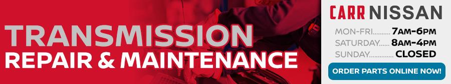 Nissan Transmission Repair and Maintenance Information at Carr Nissan serving Portland, Oregon