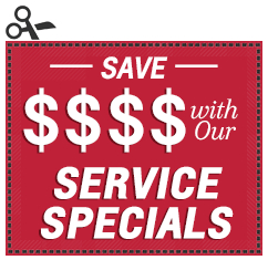 Click to view this month's Service Specials