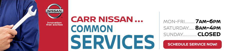 Nissan Maintenance & Service Information at Carr Nissan serving Oregon