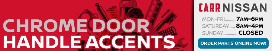 Nissan Chrome Door Handle Accents Information in Beaverton, OR