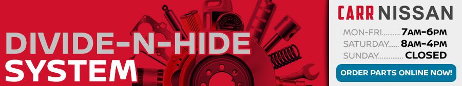 Genuine Nissan Divide-N-Hide System in Beaverton, OR
