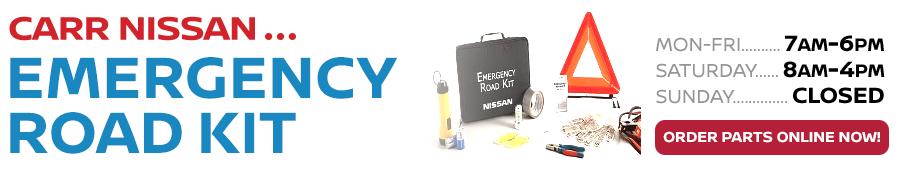 Genuine Nissan Emergency Road Kit in Beaverton, OR
