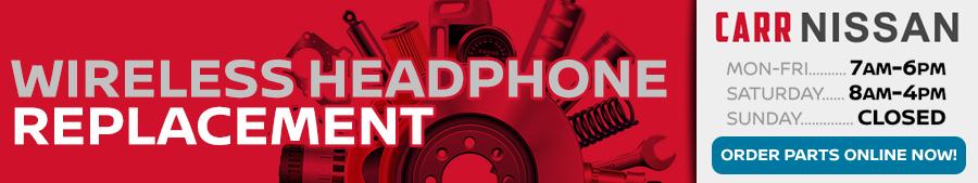 Genuine Nissan Wireless Headphones Parts Information in Beaverton, OR