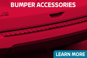 Click to learn more about Genuine Nissan bumper accessories available at Carr Nissan in Beaverton, OR