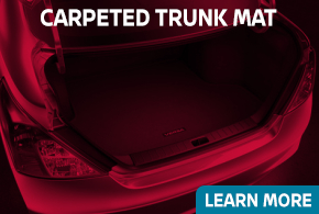 Learn more about genuine Nissan Carpeted Trunk Mats - click to read more information at Carr Nissan in Beaverton, OR