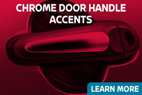 Click to learn about our Nissan chrome door handle accents in Beaverton, OR