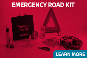 Learn more about genuine Nissan Emergency Road Kit - click to read more information at Carr Nissan in Beaverton, OR