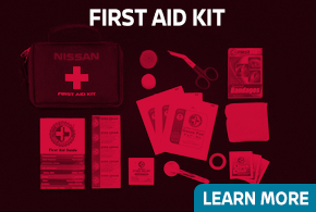 Learn more about genuine Nissan First Aid Kit - click to read more information at Carr Nissan in Beaverton, OR