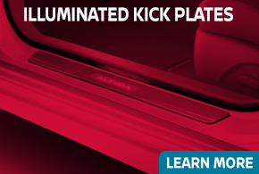 Learn more about genuine Nissan Illuminated Kick Plates - click to read more information at Carr Nissan in Beaverton, OR