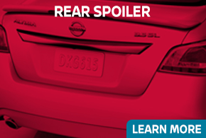 Learn more about genuine Nissan Rear Spoiler - click to read more information at Carr Nissan in Beaverton, OR