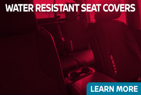 Click to learn about our Nissan water resistant seat covers in Beaverton, OR