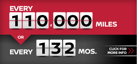 Click to learn more about our 110,000 mile or 132 month service interval at Carr Nissan in Beaverton, OR