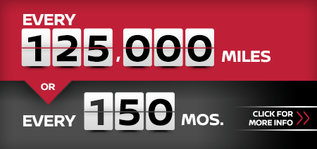 Click to research our 125,000 mile or 150 month service interval at Carr Nissan in Beaverton, OR