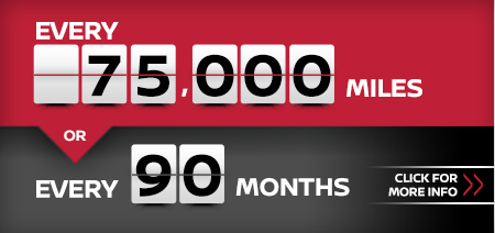 Click to research our 75k or 90 month service interval at Carr Nissan in Beaverton, OR