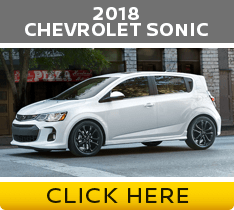 Click to compare the 2018 Nissan Versa vs Chevrolet Sonic