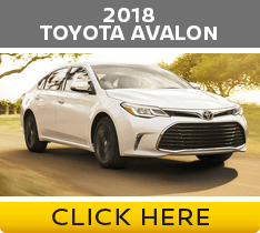 Click to compare the 2018 Nissan Maxima vs Toyota Avalon