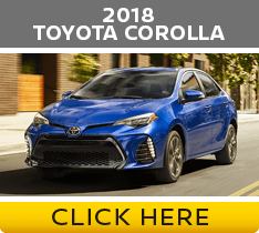 Click to compare the 2018 Nissan Sentra vs Toyota Corolla