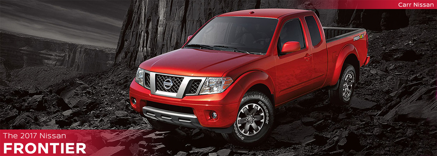 New 2017 Nissan Frontier Model Page Information