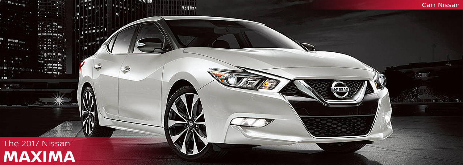 New 2017 Nissan Maxima Model Page Information