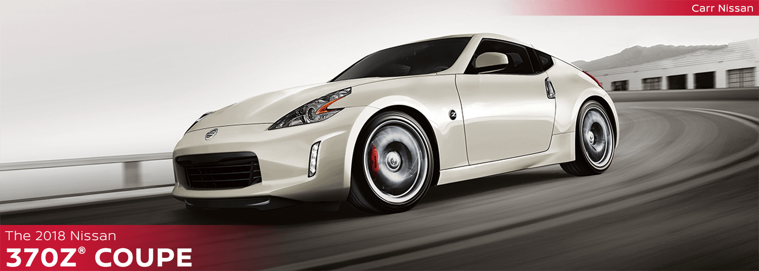 2018 Nissan 370Z Coupe sports car research in Beaverton, OR