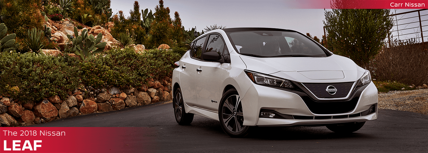 New 2018 Nissan Leaf Model Features & Information